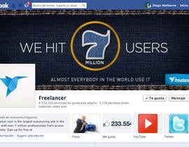 #98 for Design a Banner for Freelancer.com's Facebook Page! by dmoldesign