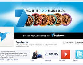 #164 untuk Design a Banner for Freelancer.com's Facebook Page! oleh dmoldesign