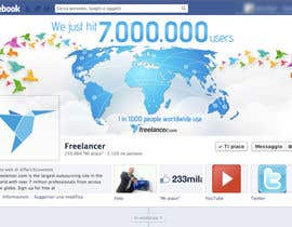 #144 untuk Design a Banner for Freelancer.com's Facebook Page! oleh holecreative