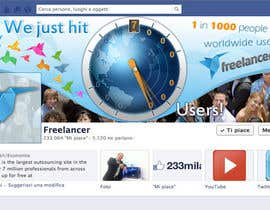 #220 for Design a Banner for Freelancer.com's Facebook Page! by SheryVejdani