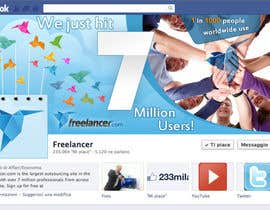 nº 245 pour Design a Banner for Freelancer.com's Facebook Page! par SheryVejdani