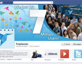 #246 for Design a Banner for Freelancer.com's Facebook Page! by SheryVejdani