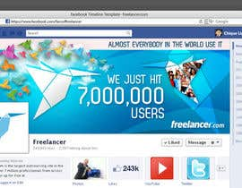 nº 186 pour Design a Banner for Freelancer.com's Facebook Page! par chiqueylim