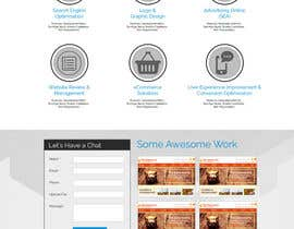 aryamaity tarafından Design a Website Mockup for Irish Media Agency için no 15