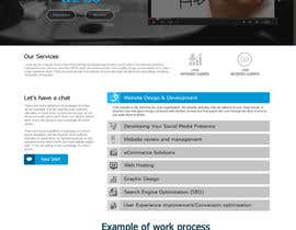 samar09 tarafından Design a Website Mockup for Irish Media Agency için no 25