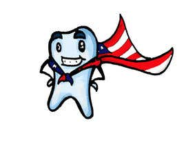 #6 for Tooth with American flag af jjmcgrath241