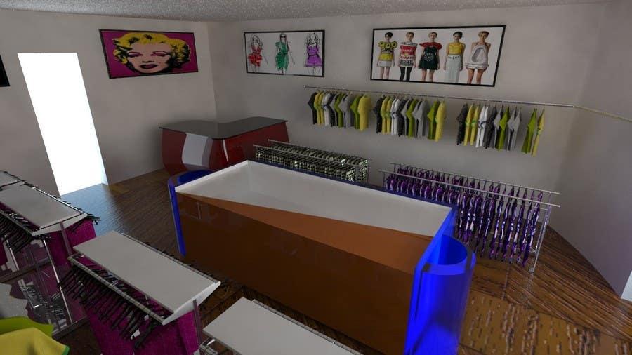 Konkurrenceindlæg #                                        16                                      for                                         Pop-Culture Fashion Shop interior design
