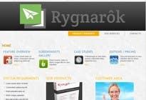Design for Rygnarôk website relaunch için Graphic Design2 No.lu Yarışma Girdisi
