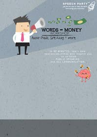 #11 cho Design a Flyer for Our Workshop: Words = Money bởi genesispeche