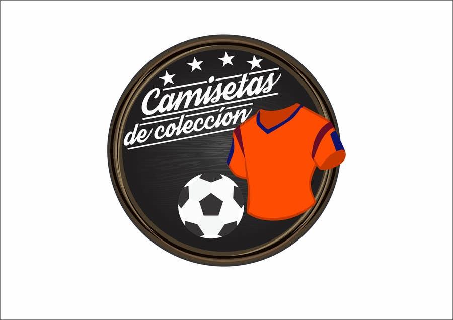Konkurrenceindlæg #                                        32                                      for                                         Diseñar un logotipo for Tienda Online Camisetas de Futbol Antiguas de Coleccion_