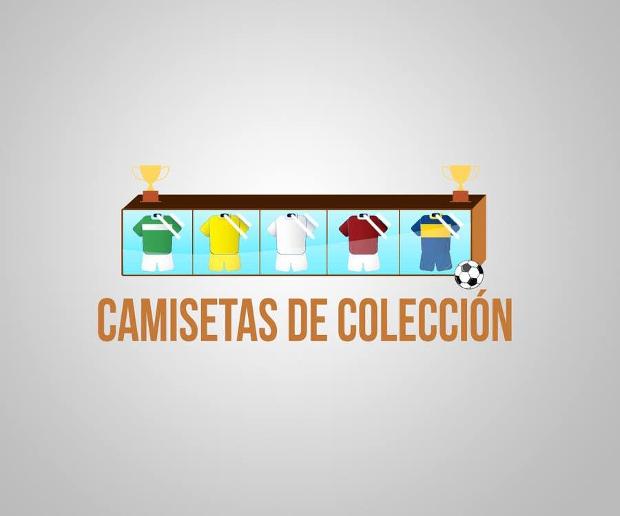 Konkurrenceindlæg #                                        1                                      for                                         Diseñar un logotipo for Tienda Online Camisetas de Futbol Antiguas de Coleccion_