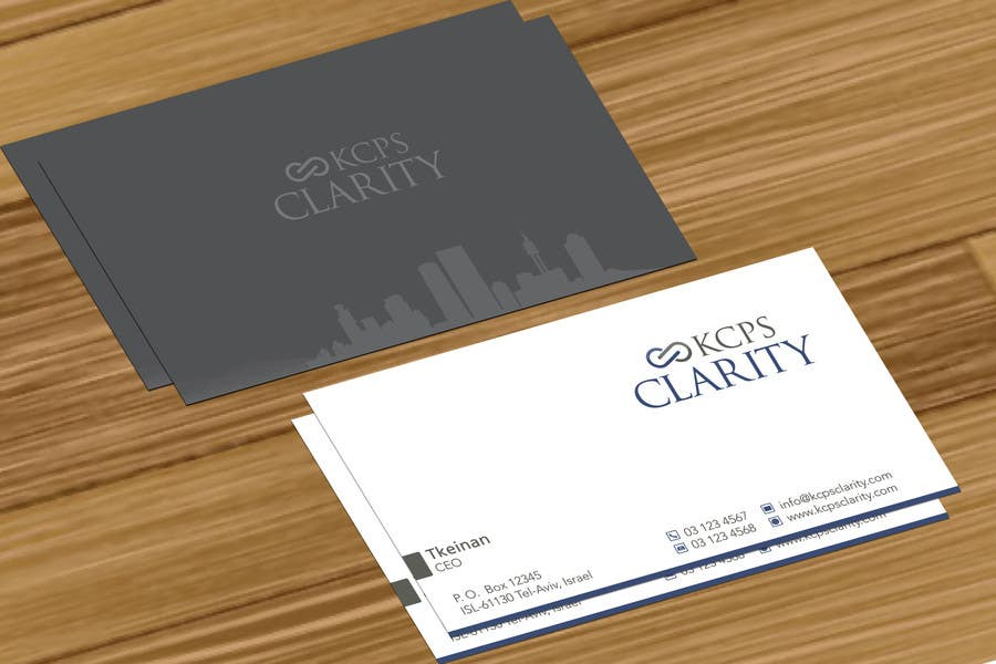 #93 for Design Stationery for KCPS Clarity by jobee