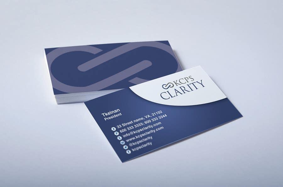 Inscrição nº 36 do Concurso para Design Stationery for KCPS Clarity