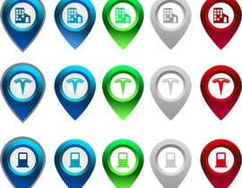 #17 for Improve Icons for map markers af hubbak