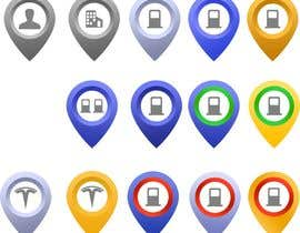 #21 for Improve Icons for map markers by hubbak