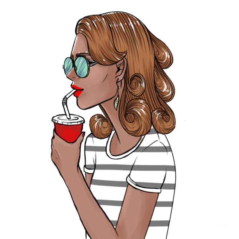 Konkurrenceindlæg #                                        12                                      for                                         Illustrate Something for Fictional Style Bloc