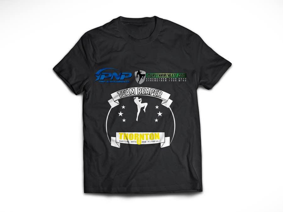 Konkurrenceindlæg #5 for Design a T-Shirt for a Fighter