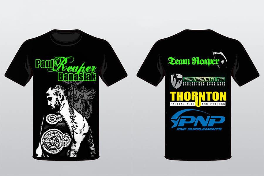 Konkurrenceindlæg #12 for Design a T-Shirt for a Fighter