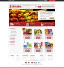 Contest Entry #6 for Design a Website Mockup for ONLINE SUPER MARKET