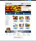 Contest Entry #13 for Design a Website Mockup for ONLINE SUPER MARKET