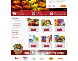 #29 para Design a Website Mockup for ONLINE SUPER MARKET por Pavithranmm