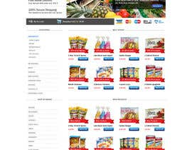 #16 para Design a Website Mockup for ONLINE SUPER MARKET por sudee1976