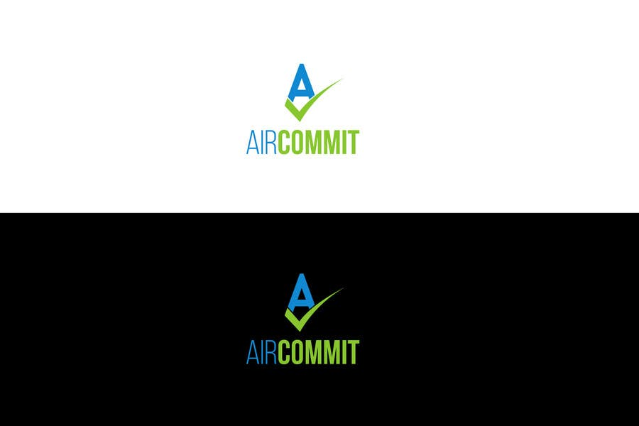 Konkurrenceindlæg #1 for Design a Logo for AirCommit