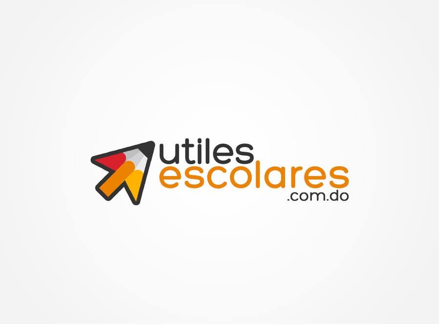 "Kilpailutyö #218 kilpailussa Design a Logo for ""utilesescolares.com.do"" (School Supplies in spanish)"
