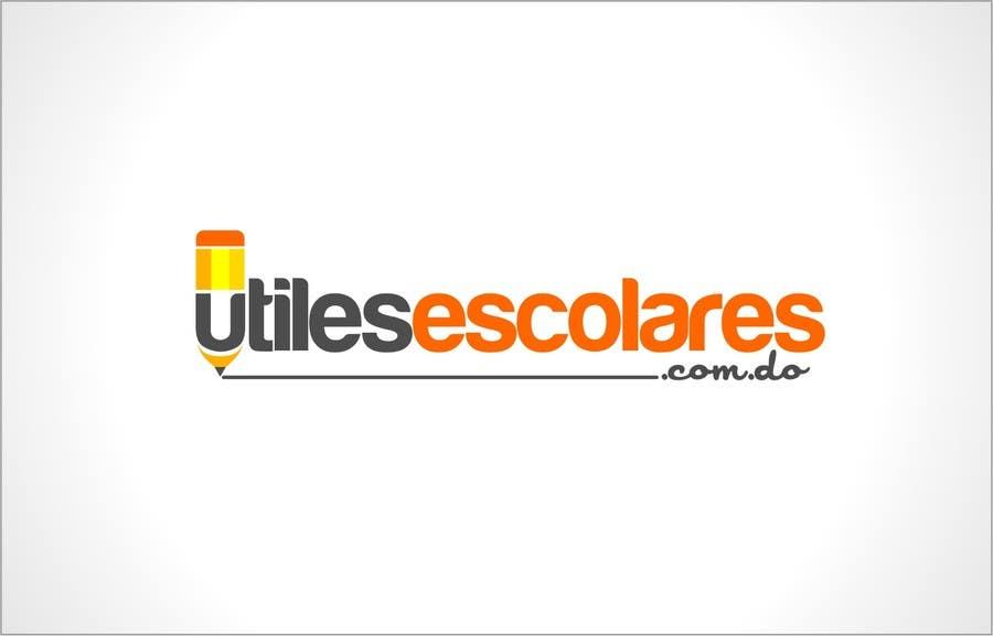 "Kilpailutyö #208 kilpailussa Design a Logo for ""utilesescolares.com.do"" (School Supplies in spanish)"