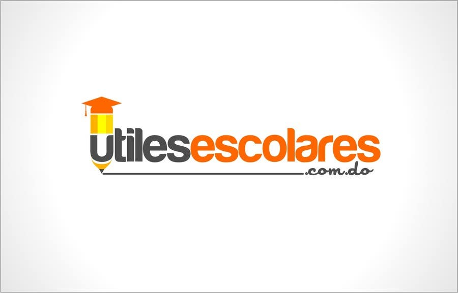 "Kilpailutyö #209 kilpailussa Design a Logo for ""utilesescolares.com.do"" (School Supplies in spanish)"