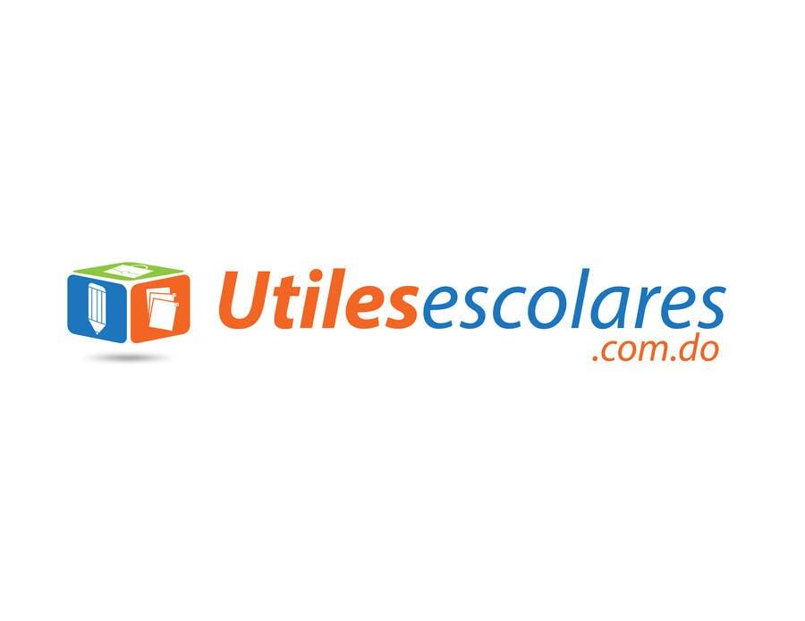 "Kilpailutyö #132 kilpailussa Design a Logo for ""utilesescolares.com.do"" (School Supplies in spanish)"