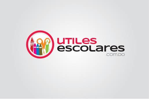"Kilpailutyö #183 kilpailussa Design a Logo for ""utilesescolares.com.do"" (School Supplies in spanish)"