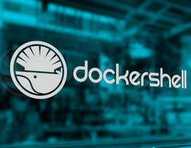 nº 38 pour Design et logo til Docker Shell par sinzcreation