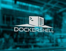 nº 40 pour Design et logo til Docker Shell par sinzcreation