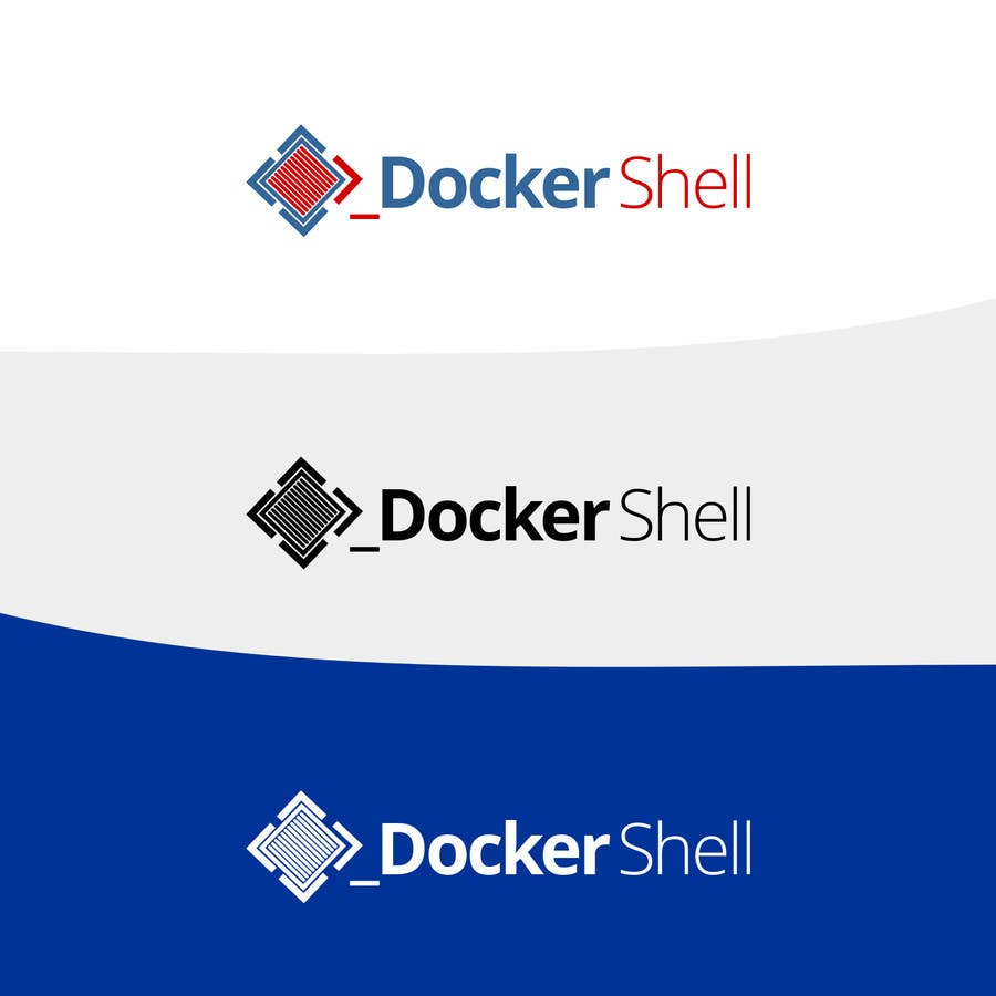 Contest Entry #                                        68                                      for                                         Design et logo til Docker Shell