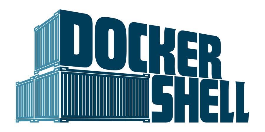 Proposition n°                                        50                                      du concours                                         Design et logo til Docker Shell