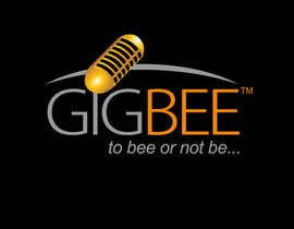 #100 para Logo Design for GigBee.com  -  energizing musicians to gig more! de smarttaste