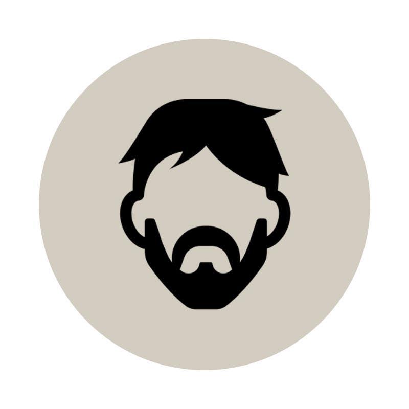 Contest Entry #                                        5                                      for                                         Logo for beard & shaving webshop