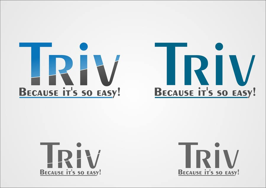Konkurrenceindlæg #23 for Design a logo for triv.ch