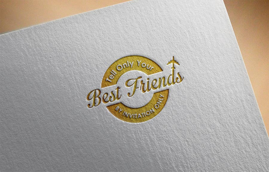 "Konkurrenceindlæg #                                        108                                      for                                         Design a Logo for a luxury travel company ""Tell Only Your Best Friends"""