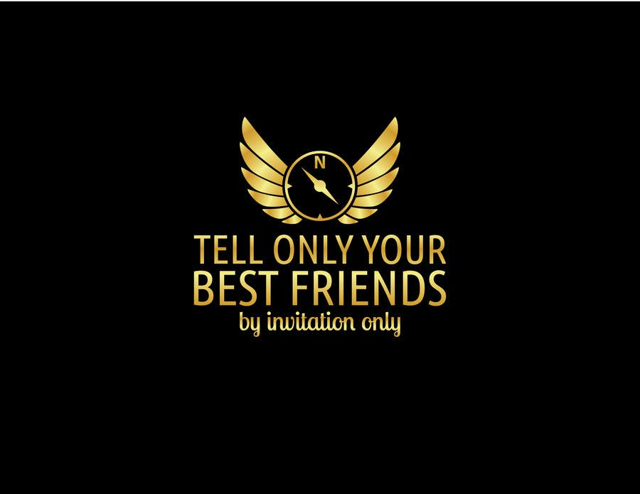 """Konkurrenceindlæg #                                        94                                      for                                         Design a Logo for a luxury travel company """"Tell Only Your Best Friends"""""""