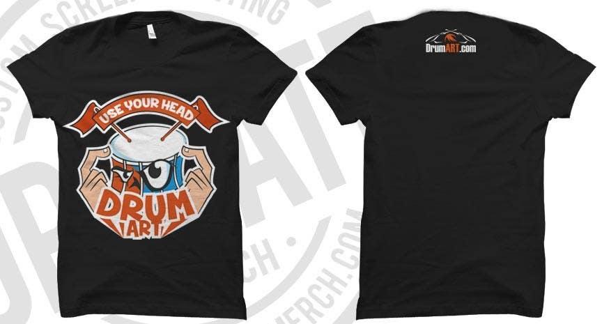 Contest Entry #                                        20                                      for                                         Design a T-Shirt for DrumART.com