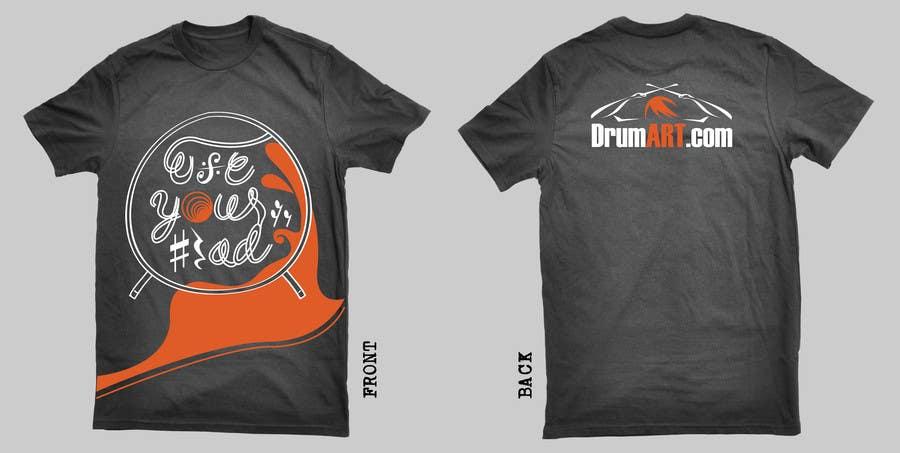 Contest Entry #                                        32                                      for                                         Design a T-Shirt for DrumART.com