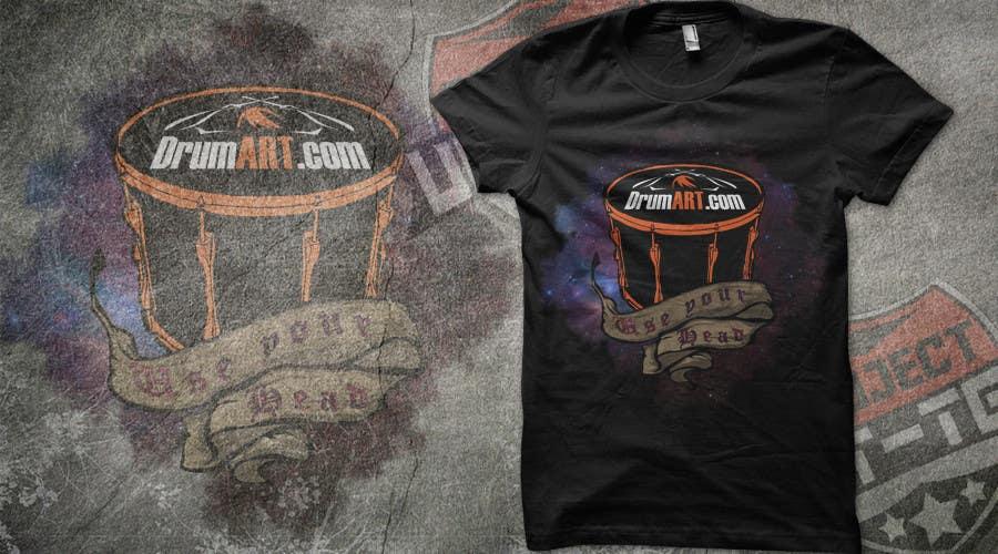 Contest Entry #                                        26                                      for                                         Design a T-Shirt for DrumART.com