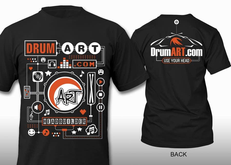 Contest Entry #                                        29                                      for                                         Design a T-Shirt for DrumART.com