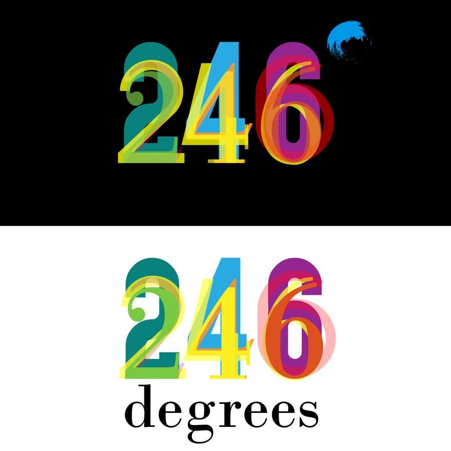 Inscrição nº 24 do Concurso para Design a logo for a company 246degrees