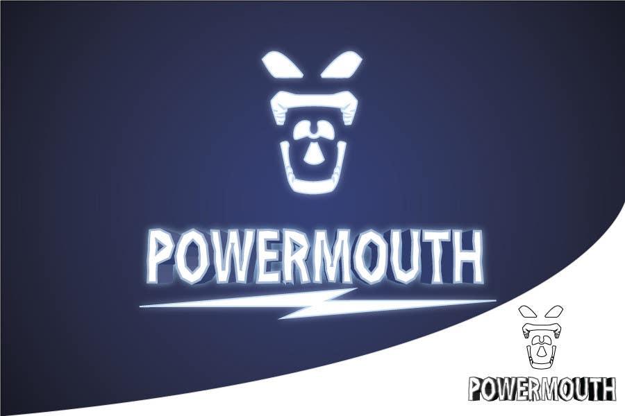"Bài tham dự cuộc thi #51 cho Logo and Symbol Design for ""POWERMOUTH"", melodic industrial metal band"