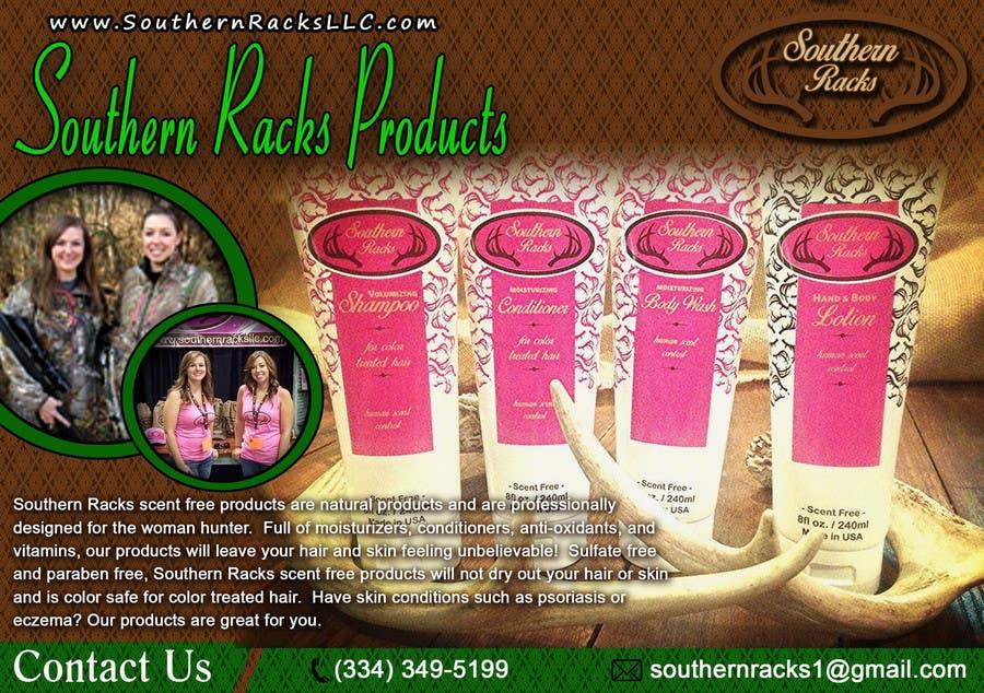 Penyertaan Peraduan #6 untuk Design a Flyer for Southern Racks LLC