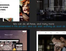#11 untuk Build a Website for Website/Graphic Design Agency oleh rijulg