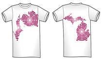 Design a circuit board graphic for a Michigan T-Shirt için Graphic Design32 No.lu Yarışma Girdisi
